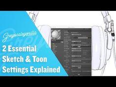 2 Essential Sketch & Toon Settings Explained | Greyscalegorilla