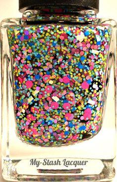 Jibber Jabber Glitter PolishNail Polish by MyStashLacquer on Etsy, $6.25