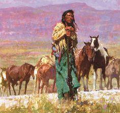 Shepherd of the Plains - Howard Terpening