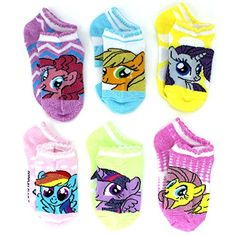 Your little equestrian will giggle with laughter from the joy these adorable My Little Pony ankle socks! Kids Toys For Boys, Big Kids, Dresses Kids Girl, Kids Outfits, Crochet Unicorn Pattern, My Little Pony Characters, Pencil Bags, Kids Socks, Colorful Socks