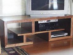 Mid century modern TV console cerdenza TV stand by PMIstudios Tv Console Modern, Mid-century Modern, Danish Modern, Modern Living, Pallette Furniture, Home Furniture, Tv Rack, Tv Wall Design, Wooden Projects