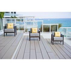 Outdoor Woodard Jax Deep Seating Lounge Chair Set - Seats 3 - WD1424-116, Durable