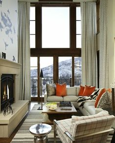 Ritz Carlton Vale by Worth Interiors.  We were excited to see our Bronze Antler Candlesticks on the hearth.