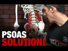 The Ultimate Hip Stretch and Mobility Drill (PSOAS SOLUTION!) - Why people get back pain when psoas and hip flexors are tight.
