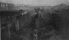 Incendio en fábrica Ciurlizza Maurer (en Plaza Unión) 1921-05-21