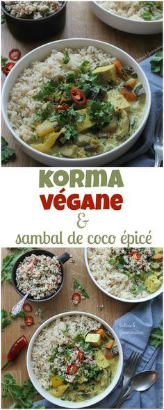 Ce korma végane à la noix de coco et aux légumes avec paneer de tofu est le parfait plat indien et se prépare en plus ou moins 30 minutes!