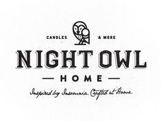 Owl Branding by James Graves