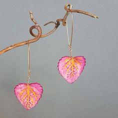 Switzerland, Porcelain, Leaves, Drop Earrings, Instagram Posts, Handmade, Jewelry, Jewellery Making, Porcelain Ceramics