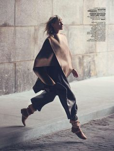 """""""Soft Camel"""" Kirsten Owen for Marie Claire Italy October 2015"""