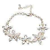 Flower Diamond Opal Bracelet – EUR € 4.59