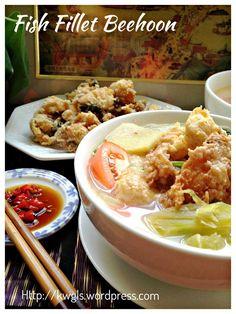 Fish Head/Fillet Rice Vermicelli Soup (鱼头/片米粉汤