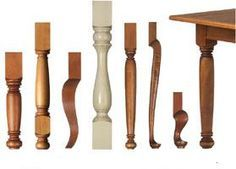In case you ever need some table legs... Could be put on IKEA tabletop or something?    Unfinished Wood Legs - Table Legs, Kitchen Island Legs, Furniture Legs, Vanity Legs