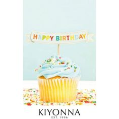Kiyonna E-Gift Certificate Birthday Cupcake ($25) ❤ liked on Polyvore featuring gift cards and plus size