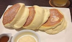 How to make fluffy Japanese pancakes - unforgettable treats- . - How To Make Fluffy Japanese Pancakes – Unforgettable Treats- # Fluffy - Pancake Recipe With Yogurt, Best Pancake Recipe, Japanese Pancake, Japanese Fluffy Pancakes, Souffle Pancakes, Homemade Pancakes, Homemade Ice, Savoury Cake, Clean Eating Snacks