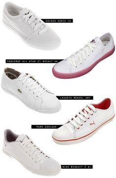 tenis branco comprar netshoes - Juliana e a Moda   Dicas de moda e beleza por Juliana Ali