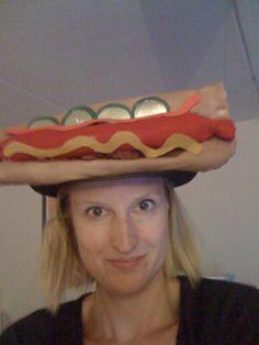 Hotdog hat I made