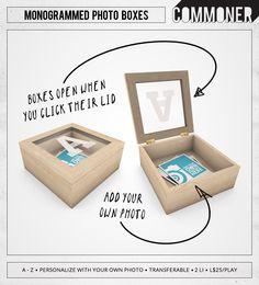 Commoner - Monogrammed Boxes