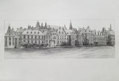 """Binnenhof""Dutch Parlement, The Hague, Holland."