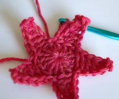 crochet star tutorial