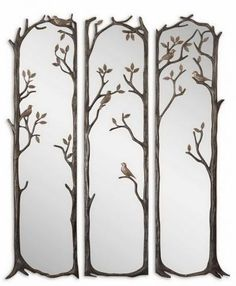 Heavily Antiqued Silver Leaf Finish Charcoal Gray Wash And Burnished Distressing Mirror