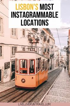 Click for the most Instagrammable places in Lisbon, Portugal including Lisbon travel tips and a free map! #lisbon #portugal #travel #travelguide #instagram #europe #lisboa #instagrammableplaces   Lisbon Instagram pictures   Lisbon Instagram spots   Lisbon in winter   Lisbon travel guide   Lisbon travel   Lisbon itinerary   Lisbon winter   things to do in Lisbon   Lisbon things to do in   Lisbon guide   Lisbon map   Lisbon photo ideas   where to take pictures Lisbon Portugal   Belem Portgual Portugal Travel Guide, Europe Travel Guide, Travel Guides, Travel Destinations, Backpacking Europe, Spain Travel, Thailand Travel, Lisbon Map, Lisbon Portugal