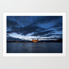 Fairy tale Castle - Moritzburg blue hour Art Print by Originalaufnahme - $18.00  #posters #artworks #graphic design #texture #inspiration #artists #stretched canvas #illustrations #room #products #pretty #colour #inspiration #Wall Art #Home Decor #Throw Pillows #Cards #Mugs #Shower Curtains #Wall Tapestries#Duvet Covers #Rugs #Wall Clocks #Art Prints #Framed Art Prints #Canvas Prints #Editions #Wall Tapestries