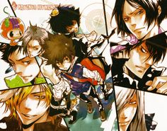 Katekyou Hitman Reborn! My favorite manga after Naruto!