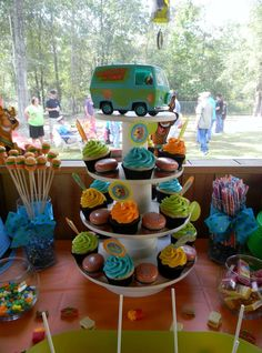 Scooby Doo Birthday Party Ideas | Photo 24 of 28 | Catch My Party