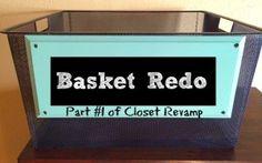 Basket Redo | Craft Dictator
