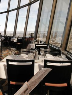 Spindletop, yes, it's a rotating restaurant. It's also got one of the best city views in town http://cmap.it/MXjBKa