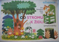 Opravilová Eva, Noll miloš - Od stromu k židli (omalovánky) - PRODÁNO