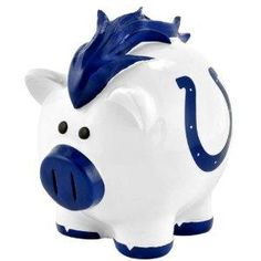 Indianapolis Colts NFL Large Thematic Piggy Bank NEW FREE SHIPPING
