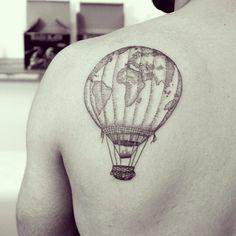 I love to travel and this will show it wanderlust tattoos, world tattoo, little Map Tattoos, Sleeve Tattoos, Tatoos, Travel Tattoos, Thigh Tattoos, Pretty Tattoos, Beautiful Tattoos, Wanderlust Tattoos, Karten Tattoos