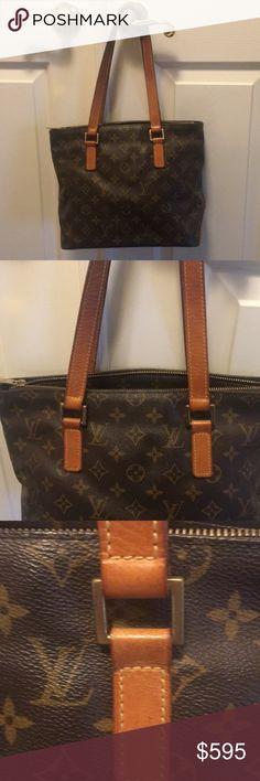 ⭐️HP⭐️Authentic LOUIS VUITTON bag Authentic LOUIS VUITTON Cabas Piano shoulder bag. Used but in good condition. Looks great Louis Vuitton Bags Shoulder Bags