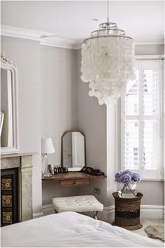 Colour Study: Farrow and Ball Cornforth White (Modern Country Style)