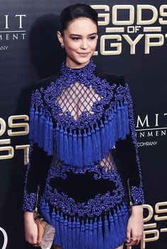 High quality 2016 New Fashion Women Blue Tassel Hollow Out Luxury Manual Hand Beading mini Dress BAROCCO Unique Runway Dress Party Dresses For Women, Cheap Dresses, Sexy Dresses, Fashion 2018, Women's Fashion Dresses, Womens Fashion, Fashion Fashion, Vestidos Sexy, Sexy Party Dress