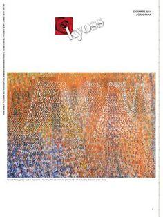 Kyoss dicembre 2016  KYOSS magazine dicembre 2016 Kyoss magazine dicembre 2016 fotografia. Kyoss è la rivista italiana delle arti. Freepress distribuita nei musei italiani, nelle gallerie d'arte e nei luoghi della cultura. Contenuti: arte, design, architettura, musica, teatro, danza, letteratura, cinema, fotografia. Copertina di @Simone PAVAN