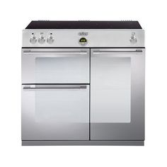 Sterling 90cm induction range cooker - stainless steel