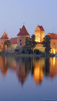 Trakai Island Castle Trakai Lithuania