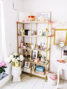 My favorite ikea hacks - fashionhippieloves. My New Room, My Room, Make Up Tisch, Diy Room Decor, Bedroom Decor, Home Design, Interior Design, Glam Room, Makeup Rooms