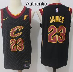 Nike Cavaliers  23 LeBron James Black Statement Edition NBA Authentic Jersey  Cheap Nba Jerseys ba3618dff
