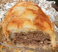 Potato Crusted Meatloaf
