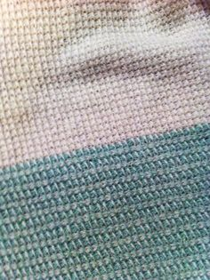 Tæppe i tunesisk hækling | PESCNO | Bloglovin'