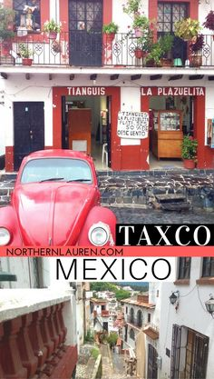 Taxco Guerrero Mexico, the Mexican silver town that makes a perfect day trip from Mexico City. One of the many things to do near Mexico City, Taxco is colonial, cobbled, colourful and cool!