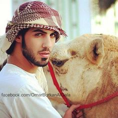 Omar Borkan Al Gala...this man was deported from saudi arabia for being too handsome. True story. I did my news article in geography on this :)