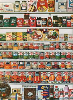 Acme Markets Store Brands 1965 by pleasant family shopping, via Flickr