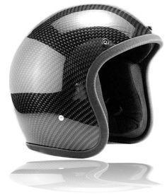 3/4 Carbon Fiber Helmet