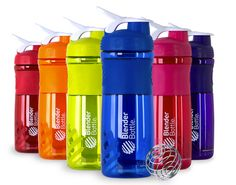 Gym rats and camping enthusiasts alike will love BlenderBottle's SportMixer, a bottle with an interior wire whisk, which makes quick work of blending protein shakes and energy drinks. Protein Shakes, Energy Drinks, Mixer, Protein Shaker Bottle, Shake Bottle, Shaker Cup, Blender Bottle, Reusable Water Bottles, Best Protein