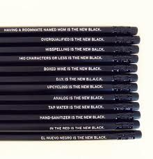 the new black pencils - Google Search
