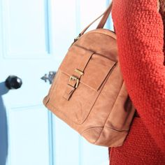 The Tan Aine leather handbag from the Nichola Jane Collection Tan Leather Handbags, Uk Shop, Leather Backpack, Tote Bag, Stuff To Buy, Shopping, Collection, Polyvore, Design